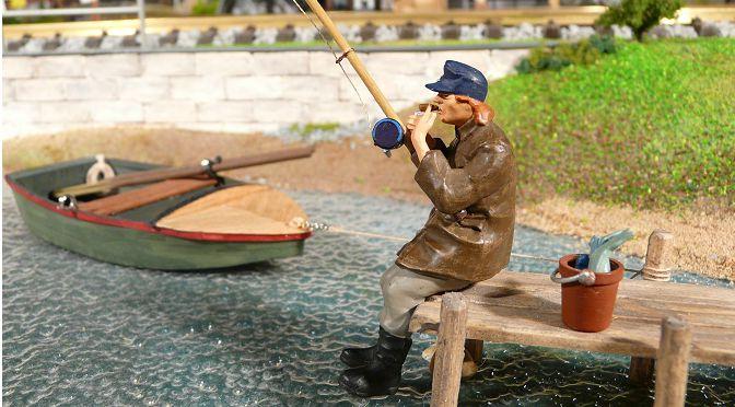 Tisch am Teich